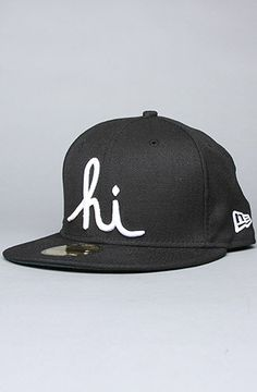 The Hi New Era Cap in Black by In4mation