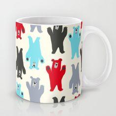 Growling Bears Mug by Nathalie Robbins - $15.00