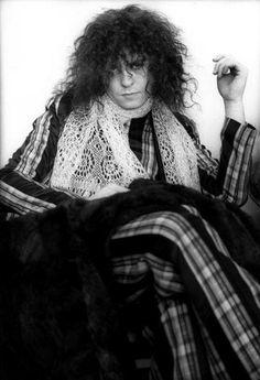 Marc Bolan, definately had a teenage crush on him!