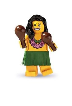 LEGO Collectible MiniFigure Dance Instructor Series 17 Sealed Pack #14