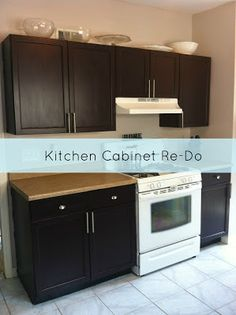 Mommy Musings: Paint It Kitchen Cabinets