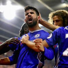PL @10: Chelsea 2-0 Southhampton Hazard's 5th goal Costa's 8th goal