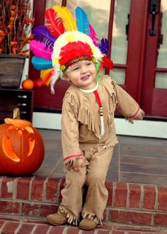 Little boy indian costume from Etsy - Mainstreet X Costumes