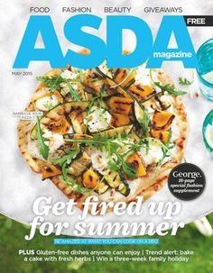 - George fashion supplement - Gluten-free dishes anyone can enjoy - Trend alert: bake a cake with fresh herbs - Win a three-week family holiday Barbecue Pizza, Bbq, Beauty Giveaway, Getting Fired, Food Festival, Fresh Herbs, Food Styling, Magazine, Gastronomia