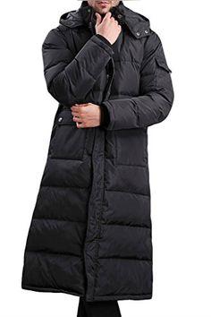Aileen88 Men's Winter Hooded Thicken Warm Long Duck Down Coat Jacket Parka  http://www.yearofstyle.com/aileen88-mens-winter-hooded-thicken-warm-long-duck-down-coat-jacket-parka-3/