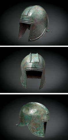 An Illyrian helmet, Greek, 600 B.C.E.