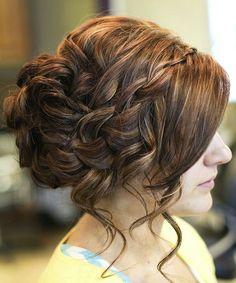 Hair for John and Rita's wedding