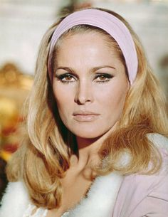 Actress Ursula Andress wearing a hairband with her hair falling over her shoulders, circa Get premium, high resolution news photos at Getty Images Ursula Andress, Brigitte Bardot, Hollywood Stars, Old Hollywood, Best Beauty Tips, Beauty Hacks, Bond Girls, Actrices Hollywood, Catherine Deneuve