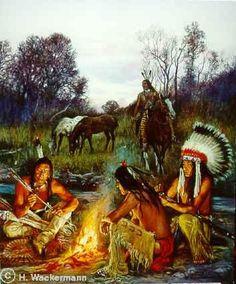 Lakota Feuerplatz