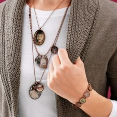DIY~ Photo Jewelry Crafts- love these!