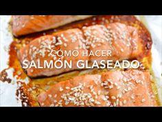 Salmón glaseado a la soya (o soja) listo en minutos