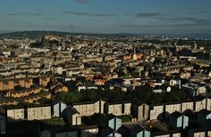 https://flic.kr/p/CpyiKy | Good Morning Edinburgh! | From Holyrood Park. Edinburgh, Scotland.