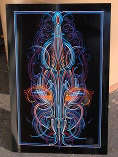 Pinhead Lounge Pinstriping Archive - Pinstriping and hand lettering image and photo viewer