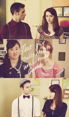 The Lizzie Bennet Diaries (oh my gosh, when he pulled out the bow tie!!!)