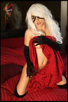 Black Cat Cosplay – Liz Katz | Frakkin Nerds