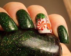 O Tannenbaum meets Sweets- Nails* | Nagellack 2.0