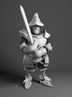 Steiner - Fanart FF IX by Leonardo Rezende | Fantasy | 3D | CGSociety