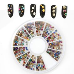 $0.88 Find More Rhinestones & Decorations Information about Perfect Summer 3d Nail…