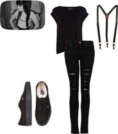 """""""Stage Crew :P"""" by kayleekinz418 on Polyvore..... Reminds me of high school :) yay stage crew!!!!"""