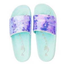 18d9d80eaaaf These Sparkly Mermaid Slides Are Perfect For Summer (and They re So  Affordable!)