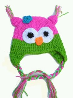 Cute Owl Baby Hat