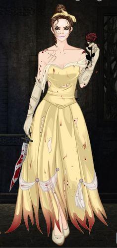 Horror!Belle -SommerTime   #disney #princess #horror #halloween #SommerTime