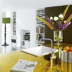 Küchen Küchenideen Küchengeräte Wohnideen Möbel Dekoration Decoration Living Idea Interiors home kitchen - Offene Küche Lagerung