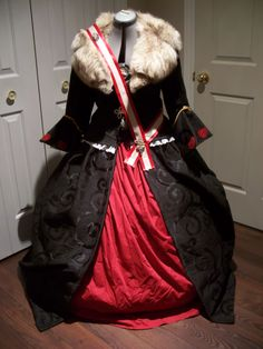 This is an old Queen of Hearts costume I did c. 2009