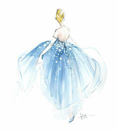 The blue dress. Katie Rodgers