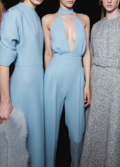 Emilia Wickstead AW15, backstage