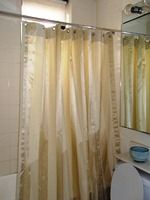 Changing your shower curtain just might be one of the fastest ways to spruce up your bathroom. But finding one in a fabric to match your décor can be tough which is why I like to make my own shower curtains. And believe it or not, it's a relat...