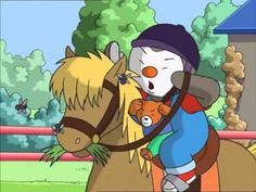 T'choupi et Doudou   Tchoupi fait du poney Pierrot, French, Youtube, Anime, Fictional Characters, Pony, Children, French People, Anime Shows