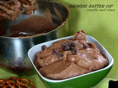 Crumbs and Chaos: Brownie Batter Dip