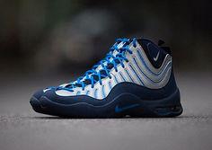 Nike Air Bakin - Navy/Blue-Silver (New Image) | KicksOnFire.com