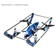 WLTOYS Q919 - A Quadcopter 2 in 1 Tank Drone #electronics #technology #gadgets #techie #fpv #trending #like #follo