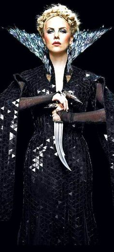 Charlize Theron as Ravenna, the Evil Queen in Snow White and the Huntsman
