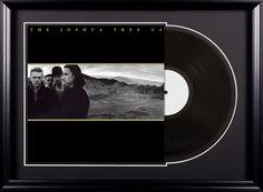 U2 - The Joshua Tree - Vintage Album Deluxe Framed