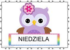 dni13 Borders And Frames, Tweety, Hello Kitty, Owl, Kawaii, Children, Painting, Fictional Characters, Montessori
