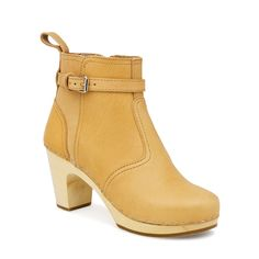 Fab.com | High Heeled Jodhpur Tan