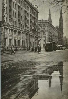 1957 Warsaw Poland, Old Things, Street View, Urban, History, Architecture, Photographs, Photos, Arquitetura