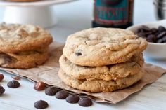 Chocolate Chip, Stout & Beer Nut Cookies