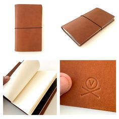 Vormu ultra minimal leather notebook in Tärnsjö Garveri Cognac. Holds up to four slim notebooks so you can have all your mental dialogue and ideation tools at hand all times. Leather cover is high grade Swedish leather, and is all hand made and hand detailed in Helsinki Finland. The notebooks are high grade bleed free 80gsm paper, especially selected to handle anything from pencil to ink. www.vormu.fi Leather Notebook, Helsinki, Leather Cover, Card Case, Finland, Notebooks, All About Time, Hold On, Minimal