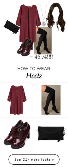 """I dare you to... dress under $50!"" by vale14m on Polyvore featuring Hue, H&M and Aéropostale"