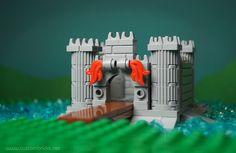Lego Mocs Micro ~ castle
