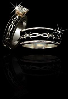 Western Silver Wedding Rings – Bing Images – mine and Jesses wedding Country Wedding Rings, Camo Wedding Rings, Country Rings, Country Jewelry, Beautiful Wedding Rings, Diamond Wedding Rings, Wedding Men, Wedding Jewelry, Wedding Bands