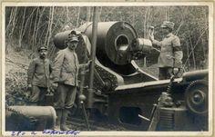Prima guerra mondiale - Caporetto - Obice da 280 mm.