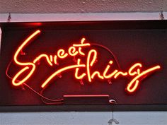 Sweet neon, photography by Don Shall, via Flickr