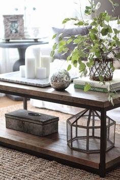 12 y blanca: 3 maneras de ESTILO una mesa de café
