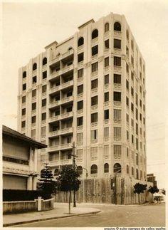 Rua Constante Ramos com a Domingos Ferreira (Ed. Guarujá) - 1930