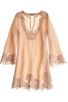 Short Lace Tunic ,Calypso St. Barth